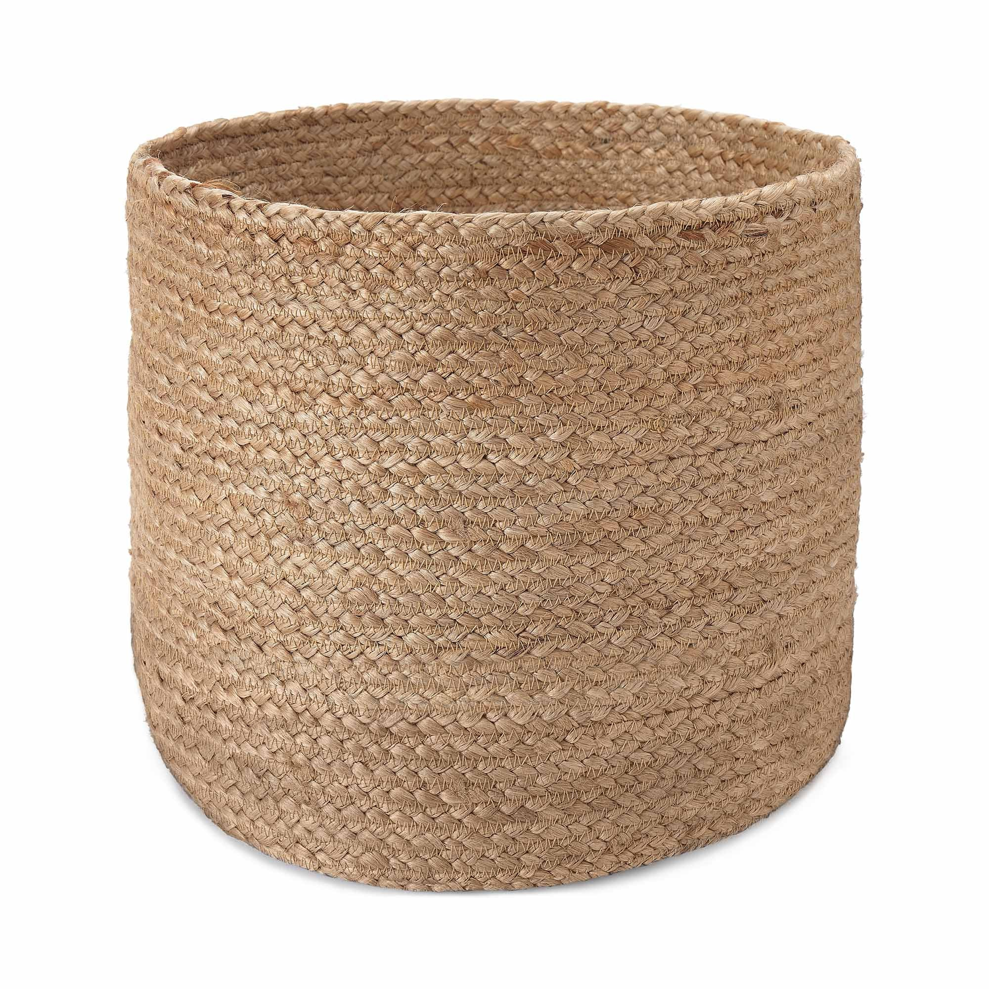 Chenab Basket natural, 100% jute