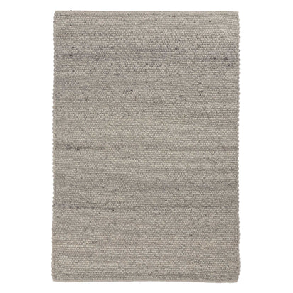 Lanja Wool Rug [Off-White melange/Light grey/Black]