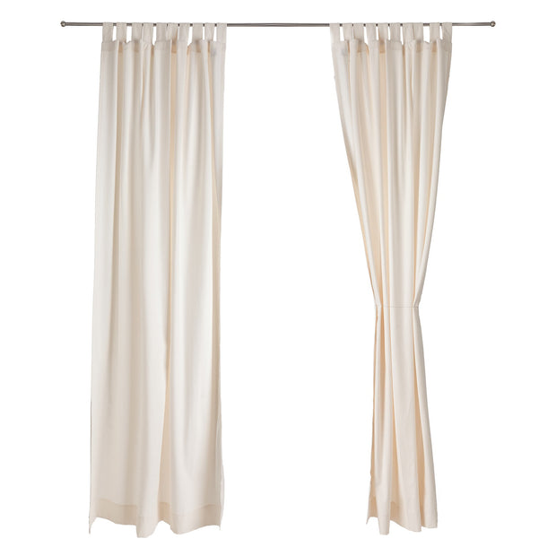 Largo curtain, natural white, 100% cotton |High quality homewares