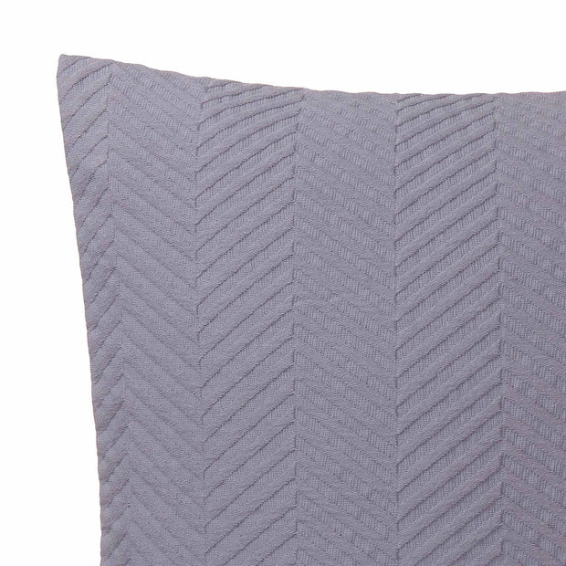 Lixa Cushion Cover in pigeon blue | Home & Living inspiration | URBANARA