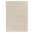 Lona rug, ivory & grey, 70% wool & 30% cotton | URBANARA wool rugs