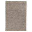 Lona rug, grey melange & ivory, 70% wool & 30% cotton | URBANARA wool rugs