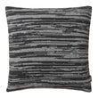 Loule cushion cover, dark grey & grey melange, 80% wool & 20% polyamide