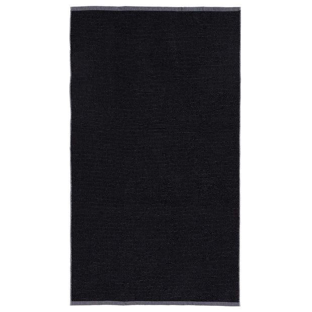 Louzela Beach Towel black & white, 100% organic cotton