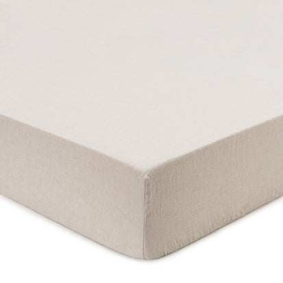 Mafalda Fitted Sheet natural, 100% linen