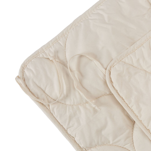 Malna Duo Duvet natural white, 100% organic cotton | Find the perfect all season duvets