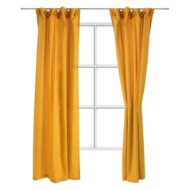 Maninho curtain, mustard, 100% cotton