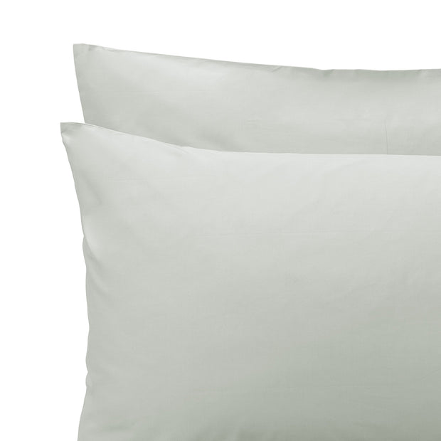 Manteigas Percale Bed Linen aloe green, 100% organic cotton | URBANARA percale bedding