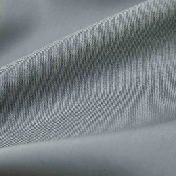 Marseille fitted sheet, light green grey, 100% cotton | URBANARA fitted sheets