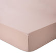 Marseille fitted sheet, powder pink, 100% cotton