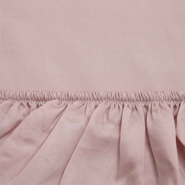 Powder Pink Marseille Spannbettlaken | Home & Living inspiration | URBANARA