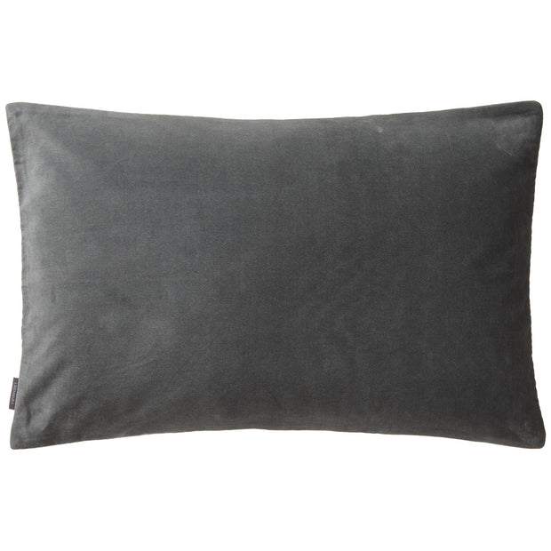 Masoori cushion, green grey, 100% cotton |High quality homewares