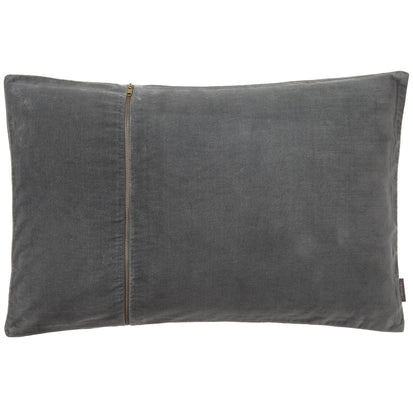 Masoori cushion, green grey, 100% cotton