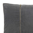 Masoori cushion, green grey, 100% cotton | URBANARA cushion covers