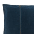 Masoori cushion, teal, 100% cotton | URBANARA cushion covers