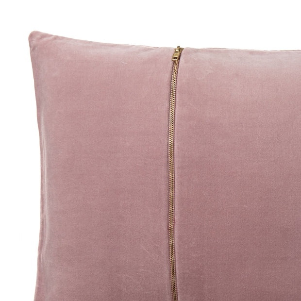 Masoori cushion, blush pink, 100% cotton | URBANARA cushion covers