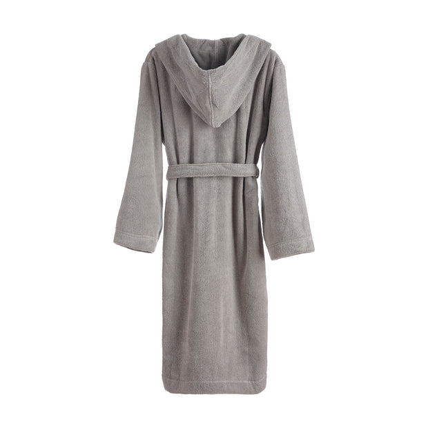 Merouco Capa Organic Bathrobe light grey, 100% organic cotton | Find the perfect bathrobes
