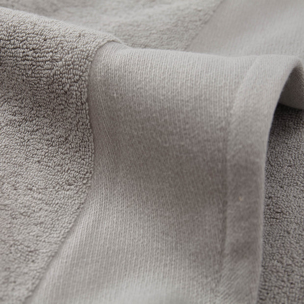 Merouco Hand Towel light grey, 100% organic cotton | URBANARA cotton towels