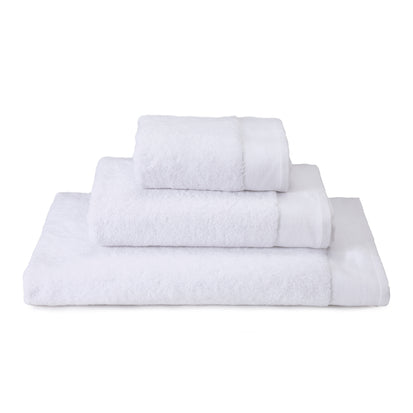 Merouco Hand Towel white, 100% organic cotton