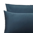 Millau Pillowcase teal, 100% cotton | URBANARA sateen bedding