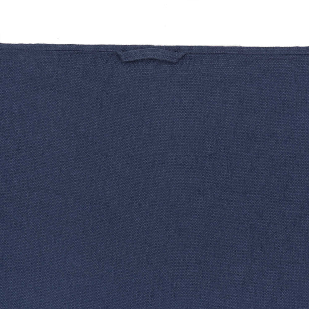Minija tea towel, blue, 100% linen | URBANARA dishcloths
