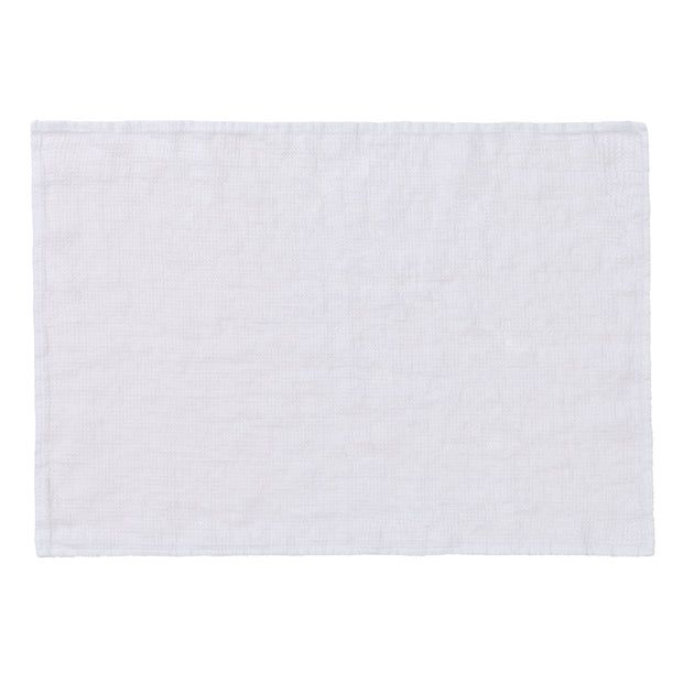 Minija Linen Place Mat Set [White]