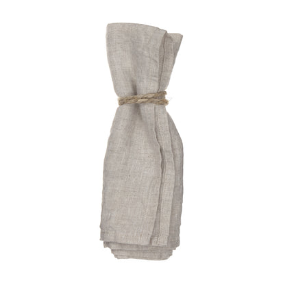 Miral Napkin Set natural, 100% linen