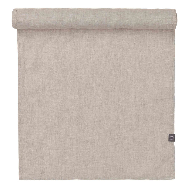 Miral table runner, natural, 100% linen