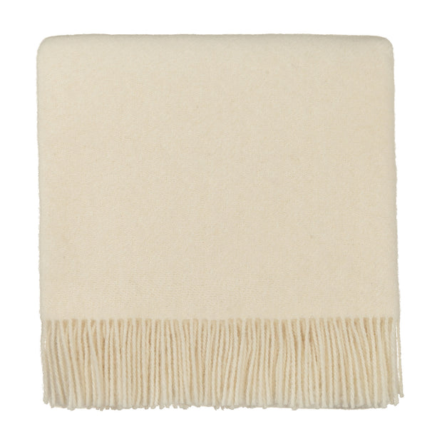 Miramar Blanket off-white, 100% lambswool