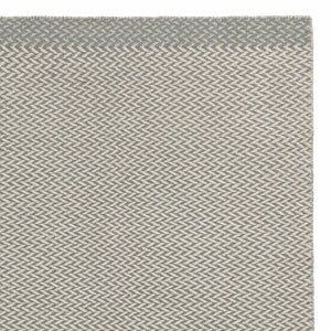 Modiya rug, light grey green & ivory, 100% wool
