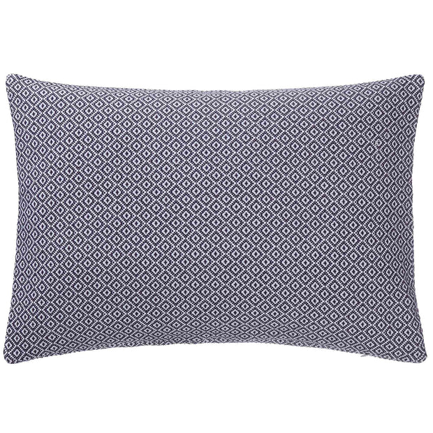 Mondego Cushion dark blue & white, 100% cotton