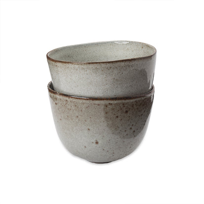 Montijo Bowl light grey, stoneware