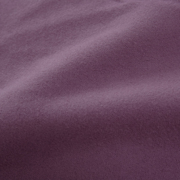 Montrose Flannel Bed Linen aubergine, 100% cotton | High quality homewares