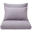 Montrose pillowcase, mauve grey, 100% cotton