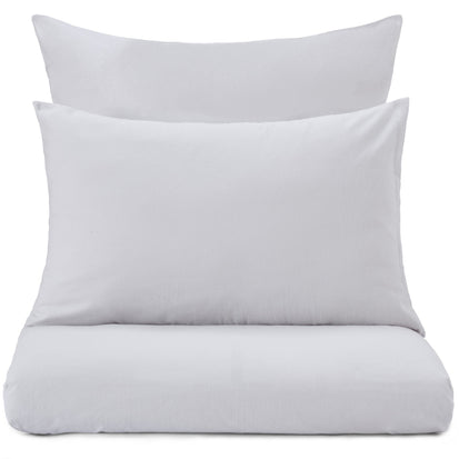 Montrose Flannel Bed Linen light grey, 100% cotton