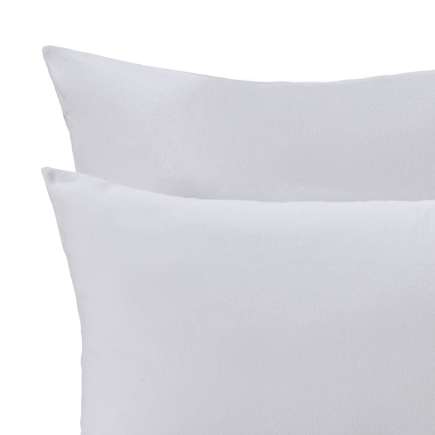 Montrose Flannel Pillowcase in light grey | Home & Living inspiration | URBANARA