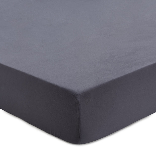 Montrose Flannel Fitted Sheet grey, 100% cotton