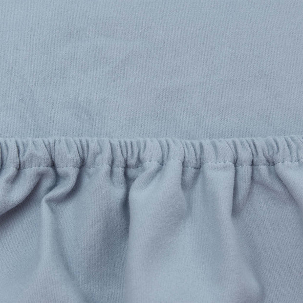 Montrose Fitted Sheet in light blue | Home & Living inspiration | URBANARA