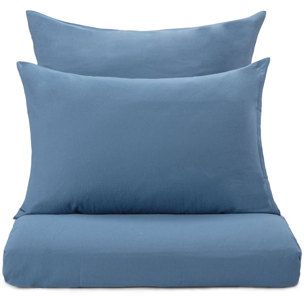 Moreira Flannel Bed Linen teal, 100% cotton