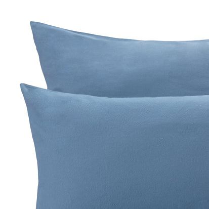 Montrose Flannel Bed Linen in teal | Home & Living inspiration | URBANARA