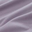Moreira duvet cover, mauve grey, 100% cotton | URBANARA flannel bedding