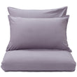 Moreira duvet cover, mauve grey, 100% cotton