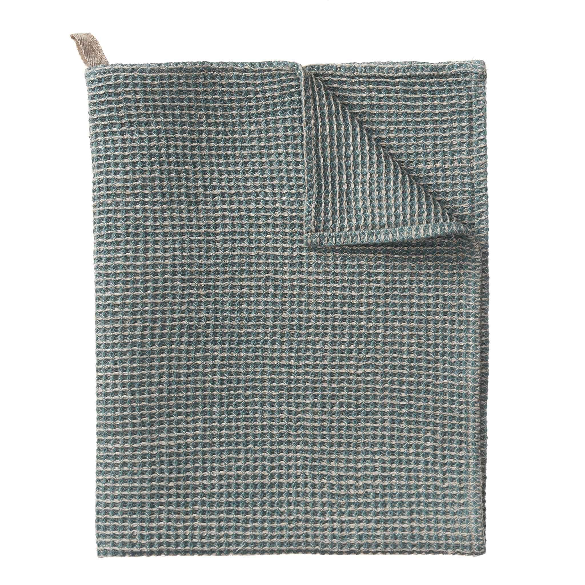 Motrai Tea Towel [Grey green/Natural]