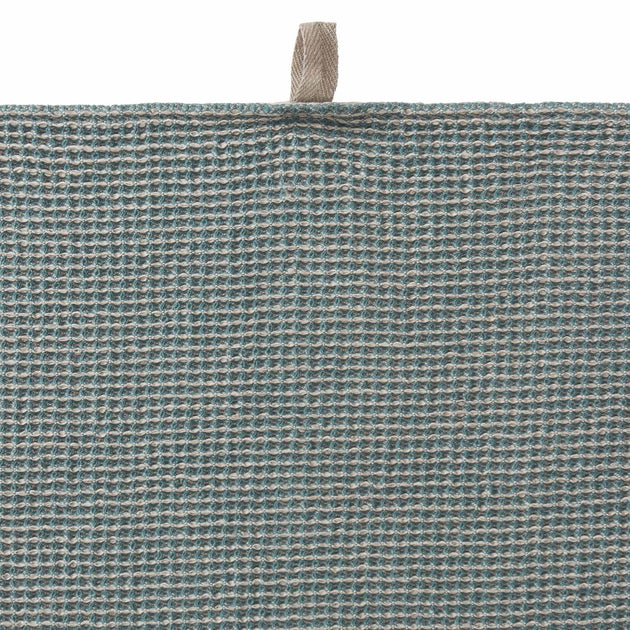 Motrai Tea Towel in grey green & natural | Home & Living inspiration | URBANARA