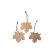 Nangal christmas decoration, warm brown, 100% mango wood