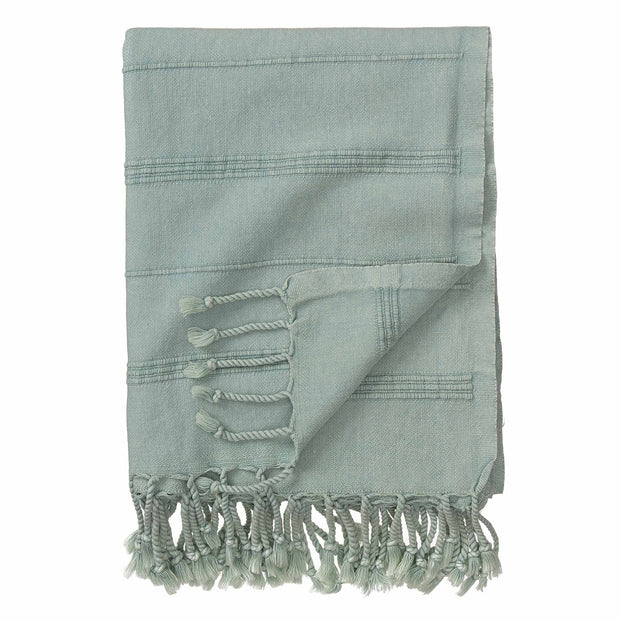 Nanzili Hammam Towel green grey, 100% cotton