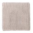 Neiva blanket, off-white melange, 100% cotton