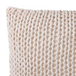Neiva cushion cover, off-white melange, 100% cotton | URBANARA cushion covers