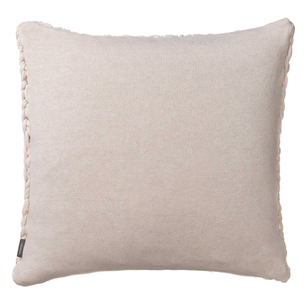 Neiva cushion cover in off-white melange, 100% cotton |Find the perfect cushion covers