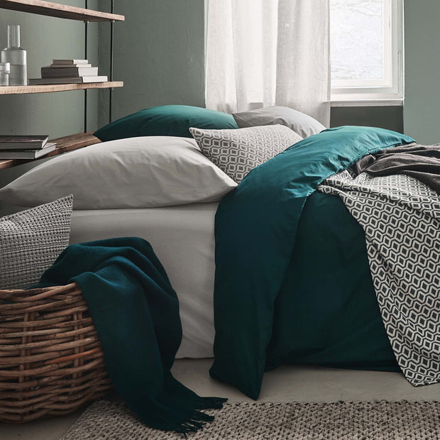Manteigas Percale Pillowcase in aloe green | Home & Living inspiration | URBANARA